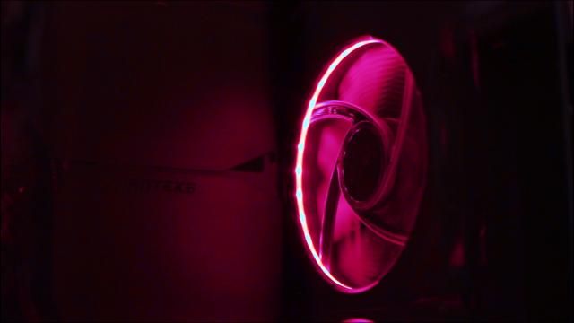 Phanteks digital halos & be quiet! Silent Wing 3
